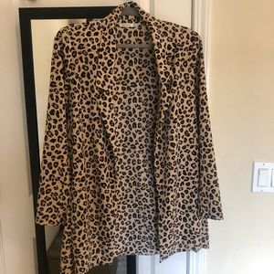 NEVER WORN leopard print blazer